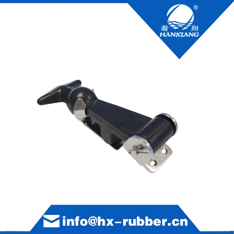 designer rubber latch for cooler box rubber hood latch