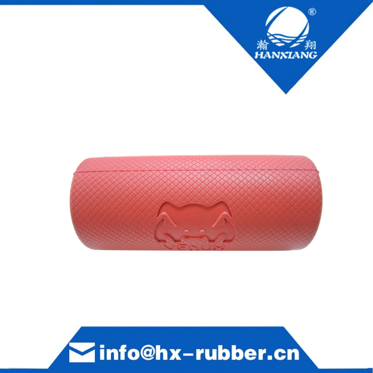 red rubber handle fat grips arm builder