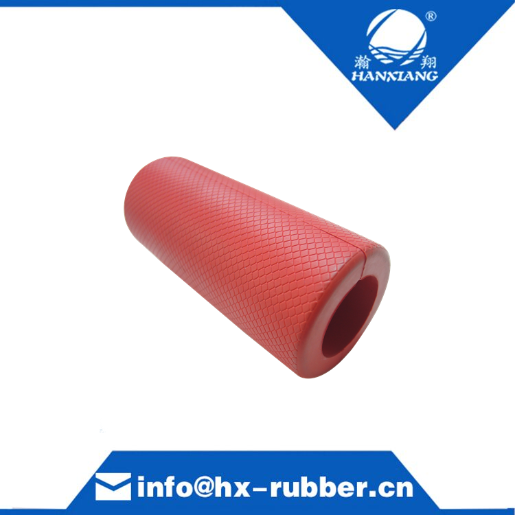 Barbell rubber fat handle grips, fat rubber grips,  rubber grips price