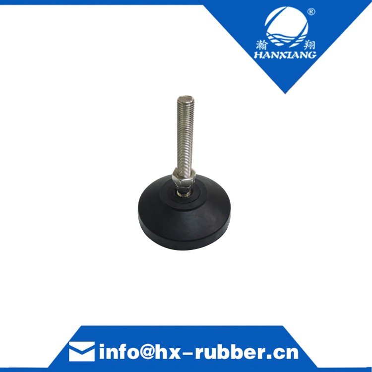 Black M16 Universal Rubber Feet