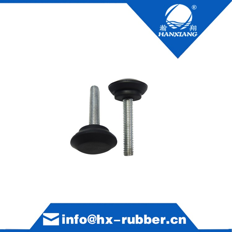Long Screw of Natural Rubber Foot Pad Custom