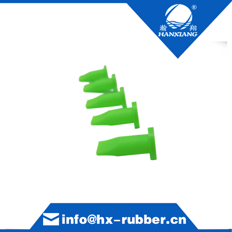 Mini silicone duckbill check valve