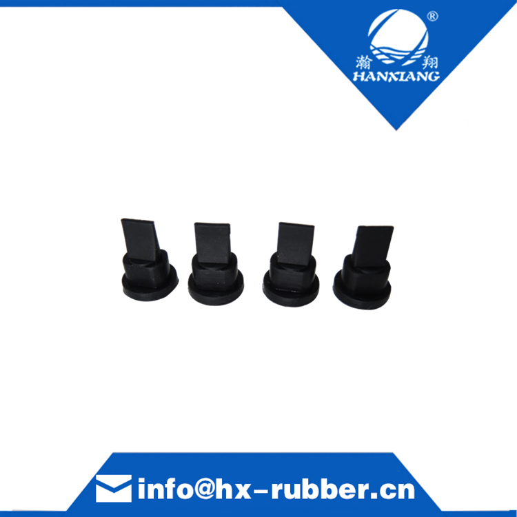 Dongguan factory customize anti-chemical silicone duckbill check valve