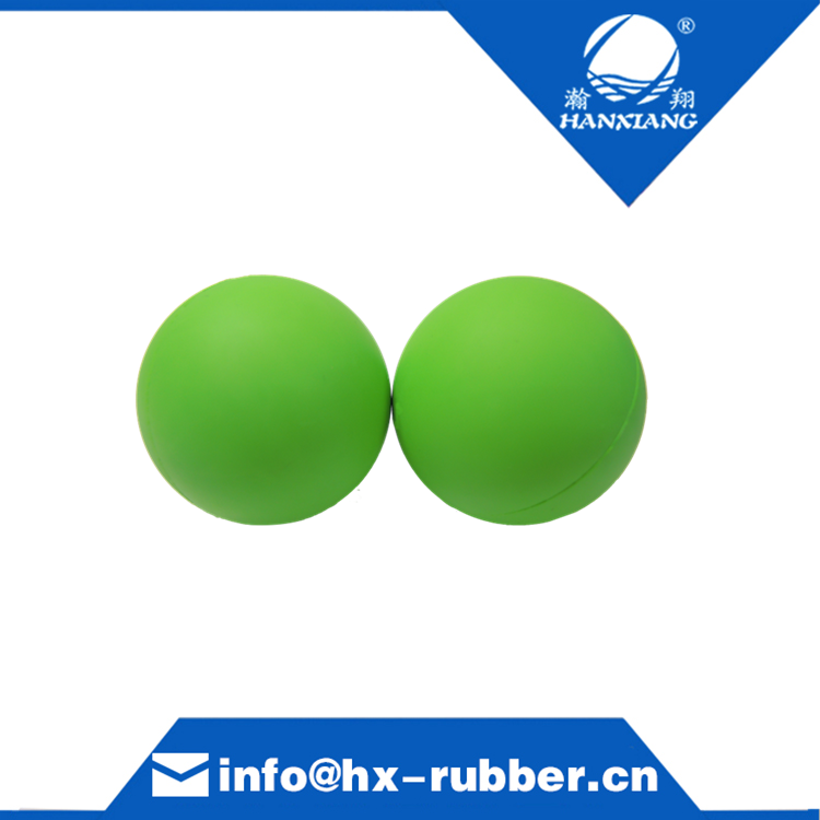 solid silicone rubber stress bouncing ball