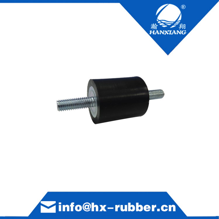 cylindrical vibration damper for machine / rubber roller