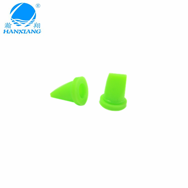 mini silicone duckbill valve with anti-dripping rubber